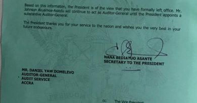 Mahama 'saddled' Akufo-Addo with Domelevo after he lost 2016 elections – Akufo-Addo