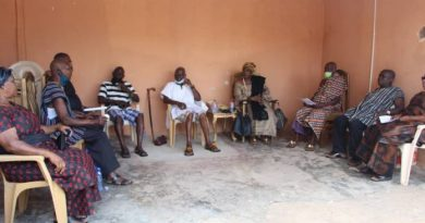 Tension brews at Akropong as armed men steal black traditional stool
