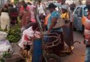Traders abandon market, 'take over' streets at Tema