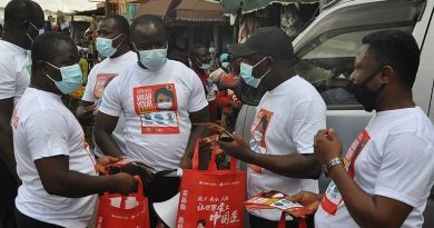 Traders Advocacy Group Ghana hits Kumasi with COVID-19 mask-up campaign