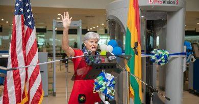 U.S. Department of State Equipment Grant boosts security at Kotoka International Airport
