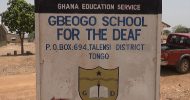 Upper East: Gbeogo School for the Deaf benefit from electrification project; Boys Dormitory commissioned