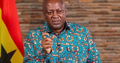 Mahama preaches peace as Christians mark death of Christ today