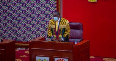Parliament under my leadership won't shirk its responsibilities – Bagbin assures