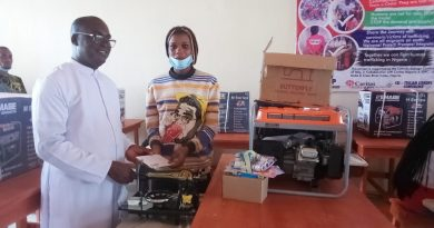 SMAT-P: Uromi JDPCI Presents Start Up Equipments To Trainees – Nigerian Observer