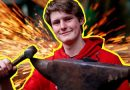Teenage blacksmith Ben Perkins forges social media following