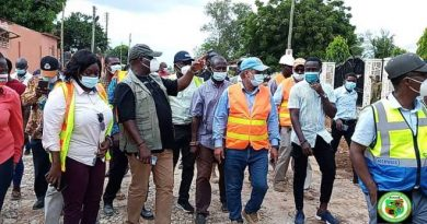 Akufo-Addo's year of roads on course — Says Roads Minister as he inspect projects in Ga East