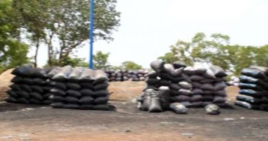Buipe Chief closes down charcoal market