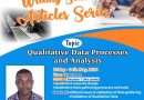 GIJ to hold seminar on qualitative data processes and analyses