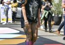 Lady Gaga Wore a T-Shirt, No Pants, and Platform Boots at 'Born This Way' Day L.A. Event
