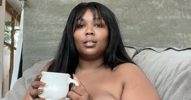 Lizzo Feels Most Beautiful When She's Naked