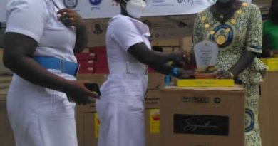 Madam Nancy Dado wins Volta Regional best midwife of the year
