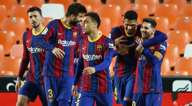 Messi has Barca over for lunch as Atletico loom