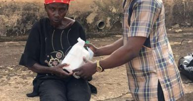 Mother's Day: Olumanba feeds mentally challenged women, says they are also mothers
