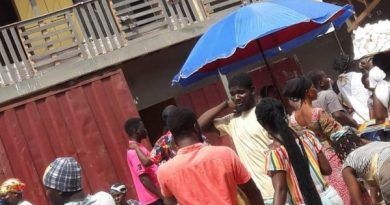 Takoradi traders forced to relocate to new market on Monday