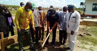 Volta Region: ADASEC gets facelift as MP cut sod for Construction of 8-Unitclassroom block