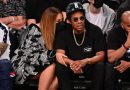 Beyoncé Stunned in a Corset Leather Mini Dress With Jay-Z During NBA Date Night