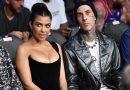 Kourtney Kardashian and Travis Barker French Kissed on Camera at the UFC Match