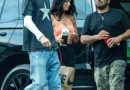 Megan Fox Dressed Down in a Sports Bra and Nike Pants at Machine Gun Kelly's Music Video Shoot