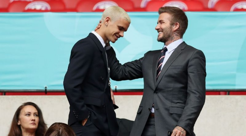 Beckham's son Romeo makes pro debut at Miami