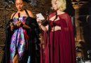 Billie Eilish Changed Into a Stunning Red Oscar de la Renta Cape Dress Inside the 2021 Met Gala